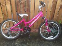 "Ridgeback Harmony Kids Bike - 20"" Wheels - Hot Pink"