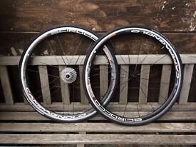 For sale wheelset Campagnolo scirocco 35mm 11 speed RRP 350£