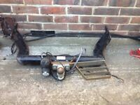 Ford transit Towbar with step