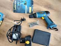 Workzone 18v Cordless Drill and Separate Drillbit set