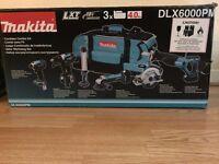 Makita 6 Piece Combo Kit DLX6000PM