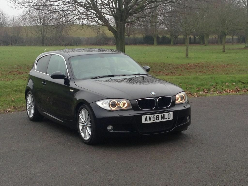 bmw 118d m sport 2008 58 with full history and xenon lights and leather in south croydon. Black Bedroom Furniture Sets. Home Design Ideas