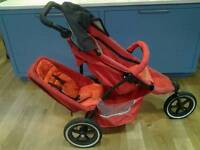 Phil and Ted's dash double pushchair