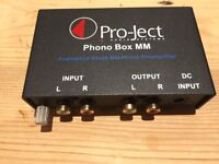 Pro-ject Project Phono vinyl RIAA preamplifier Phono Box MM