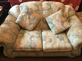 2 good condition sofas , clean and still nice to use