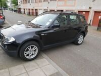 BMW X3, 5 Doors, only 47,080 miles on the clock in Black