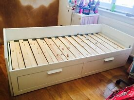Ikea Brimnes Day bed with mattresses