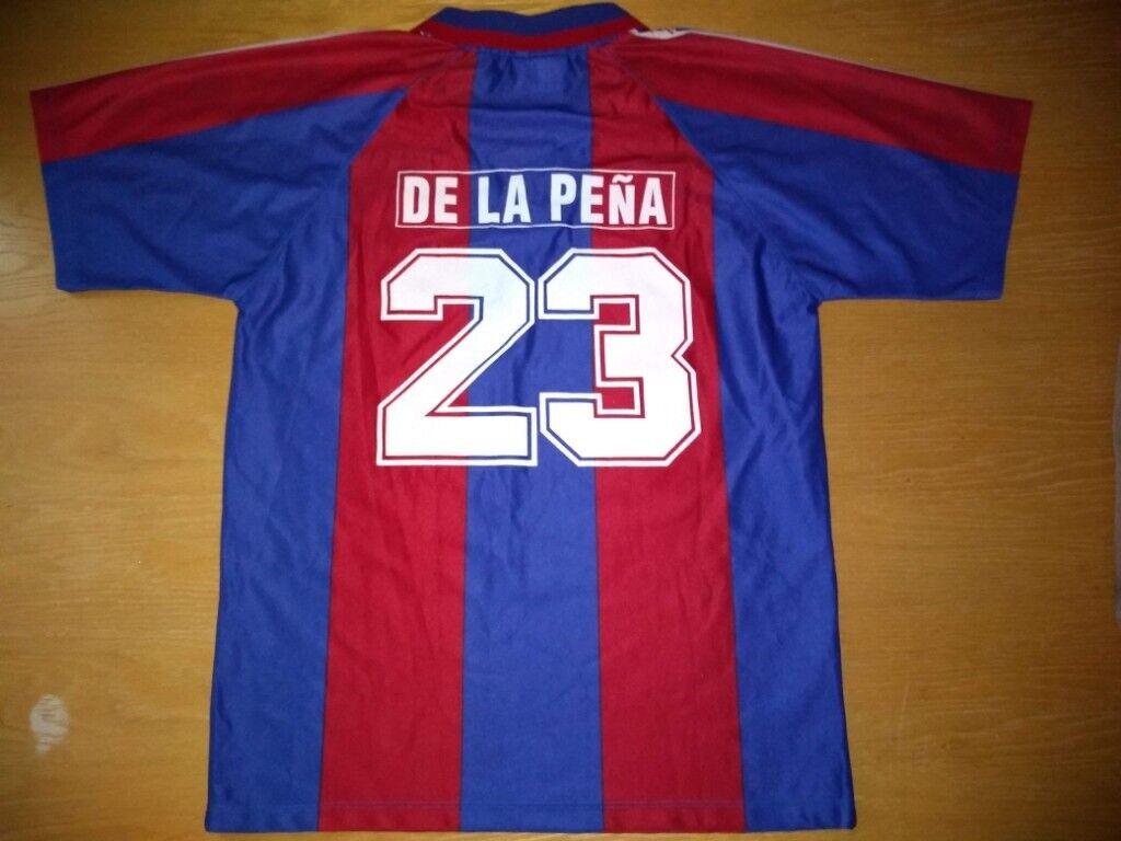 sale retailer 72595 37af4 BARCELONA DE LA PENA #23 - RARE FOOTBALL SHIRT! 1995-97 VINTAGE OLD  (Medium) | in Portsmouth, Hampshire | Gumtree