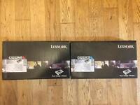 Lexmark Magenta & Cyan Toner Cartridge C5222MS/C5222CS