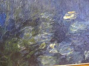 """Claude Monet """"Green Reflections"""" Painted 1920 Art Print Stratford Kitchener Area image 6"""