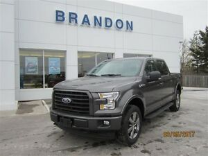 2017 Ford F-150 4x4 - Supercrew XLT - 145 WB **LOW KMS**