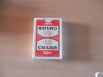 ancien jeu de carte publicitaire bieres caulier