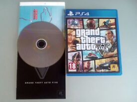 Grand Theft Auto 5 (GTA V) for Playstation 4 (PS4) Location- Worsley EXCELLENT CONDITION