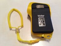 Vivitar DVR 850HD Underwater Camera - Never Used - With Case, charger, cables, instructions etc