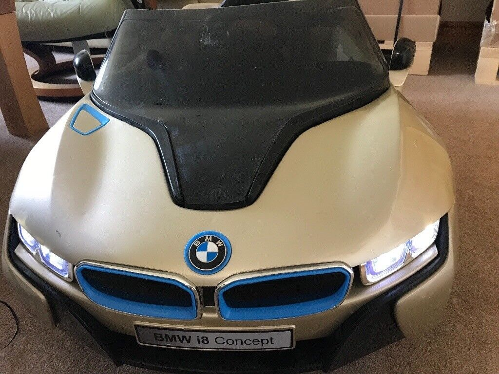 Bmw I8 Kids 12v Ride On Electric Car With Charger And Parental