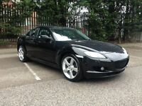 Mazda rx-8 2.6(231 bhp). Full leather interior. Service history.