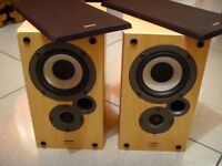 Mission BookShelf Speakers - Denon SCM-10K, delivery available