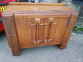 Sideboard - Retro Vintage 2 Drawer, 2 Door and 1 Inner Shelf Sideboard