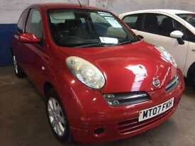 NISSAN MICRA 1.4 2007 + SERVICE HISTORY + MOT JAN 2018 + 2 KEEPERS FROM NEW