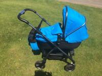 Silver cross wayfarer (newest model) hardly used 6 months old with car seat Pram Pushchair