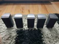 Bose x5 Lifestyle Double cube speakers