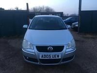 VW POLO 1.2S 5DR IDEAL FIRST CAR CHEAP INSURANCE WARRANTY AVAILABLE