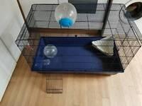 Large collapsible rat/large animal cage