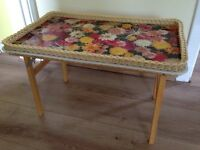 Vintage coffee table/tray