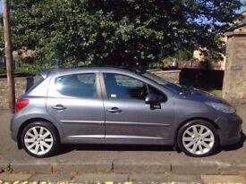 Peugeot 207 GT 1.6 2008 (08)**Diesel**Full Years MOT**Economical Family Car for ONLY£1995