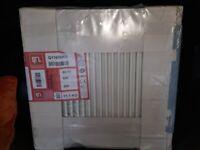 QRL Radiator Single Panel 600 H x 600 L High Efficiency UK Manufactured