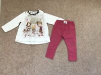 Mayoral 12month baby girls outfit immaculate