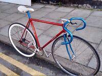 Vintage Favre Single speed bike Columbus Frame
