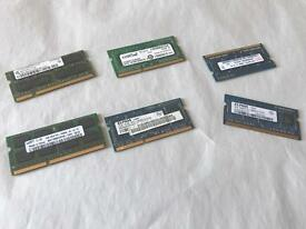 2 GB RAM memory for laptops