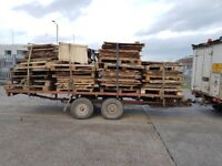 WANTED: USED AND BROKEN PALLETS FOR BURNING IN FARM WOOD BURNER. Alcester, Warwickshire.