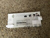 Stereophonics tickets for Wrexham race course