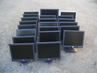 21 DELL MONITORS 19 X 15 INCH 1 X 18 & 19 INCH ALL GOOD WORKING ORDER