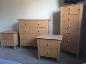 NEXT Drawers and bedside tables