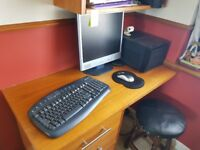 Custom built PC/Gaming PC with monitor, keyboard and mouse (Taking Offers)