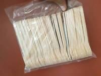 100 wooden spoons