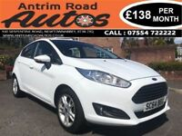 2015 FORD FIESTA ZETEC 1.0 ECOBOOST ** FULL SERVICE HISTORY ** FINANCE AVAILABLE WITH NO DEPOSIT