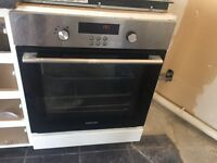 Samsung electric integrated oven bt261vdst with steam clean function