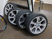"Bmw 18"" - 162 style wheels, wider rears and excellent tyres!!"