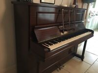 Upright Piano (Challen make) - excellent condition, perfect for beginner/improver
