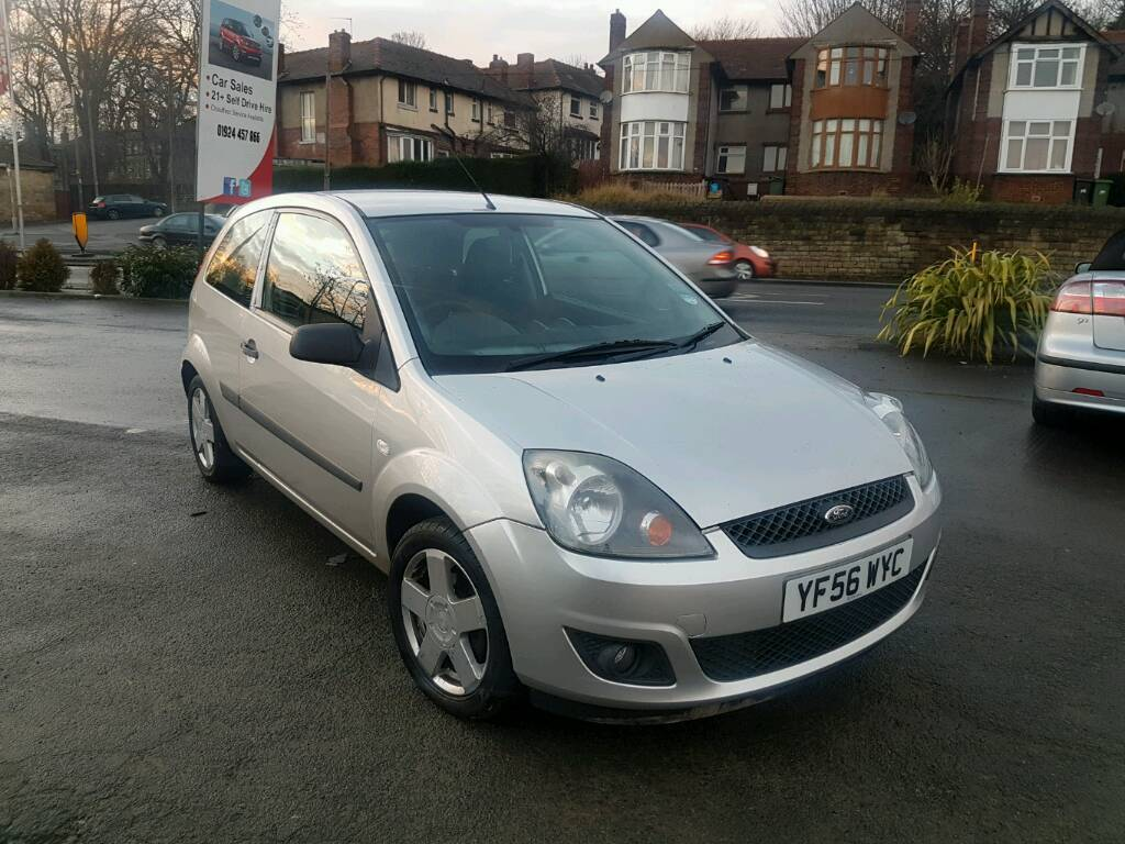 2007 FORD FIESTA 1.4 ZETEC CLIMATE MANUAL 3 DOOR SILVER F.S.H LONG MOT 1  OWNER