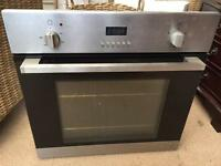 Built in electric fan oven with timer