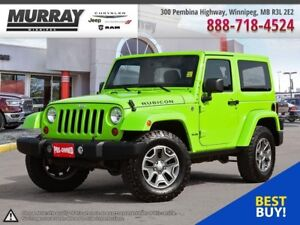 2013 Jeep Wrangler Rubicon *LOCAL/ONE OWNER/ACCIDENT FREE*