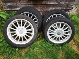 MG ZR ALLOYS 17 INCH