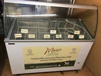 Commercial Ice Cream Freezer for Cafe or Restaurant