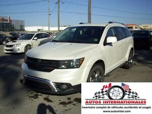 2016 Dodge Journey CROSSROAD 4X4 V6 3.6L 7 PASSAGERS MAG RACK TO