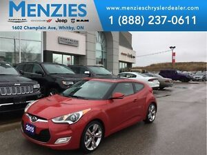 2015 Hyundai Veloster w/Tech, Bluetooth, Nav, Backup Cam, Leathe